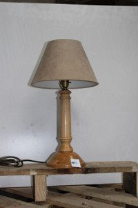 David Simpson Cherry table lamp